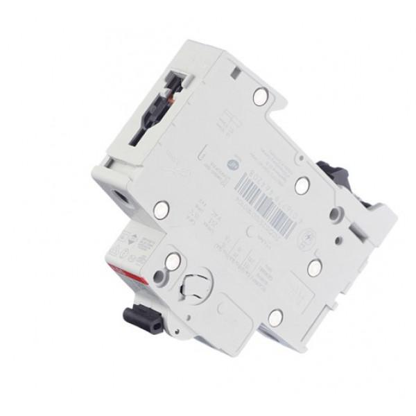 Автоматический выключатель ABB S201 (2CDS251001R0104) 1P 10А тип C 6 кА 220 В на DIN-рейку