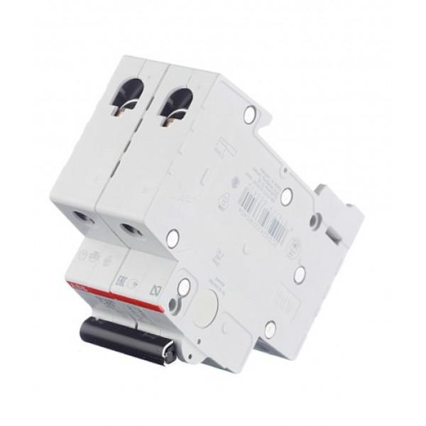 Автоматический выключатель ABB SH202L (2CDS242001R0404) 2P 40А тип C 4,5 кА 400 В на DIN-рейку