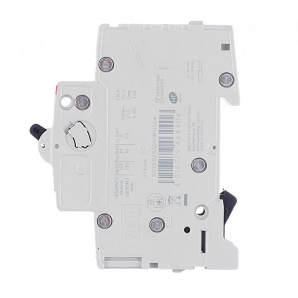 Автоматический выключатель ABB S201 (2CDS251001R0164) 1P 16А тип C 6 кА 220 В на DIN-рейку