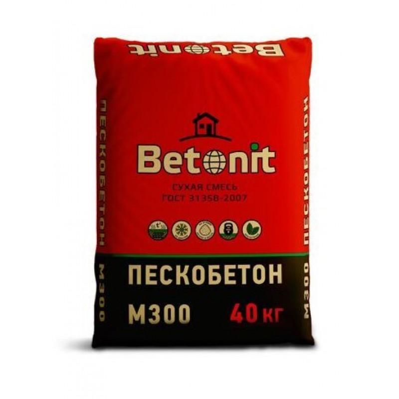 Пескобетон Бетонит (Betonit) М-300, 40 кг