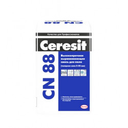 Ровнитель (стяжка пола) первичный Ceresit CN 88 25 кг