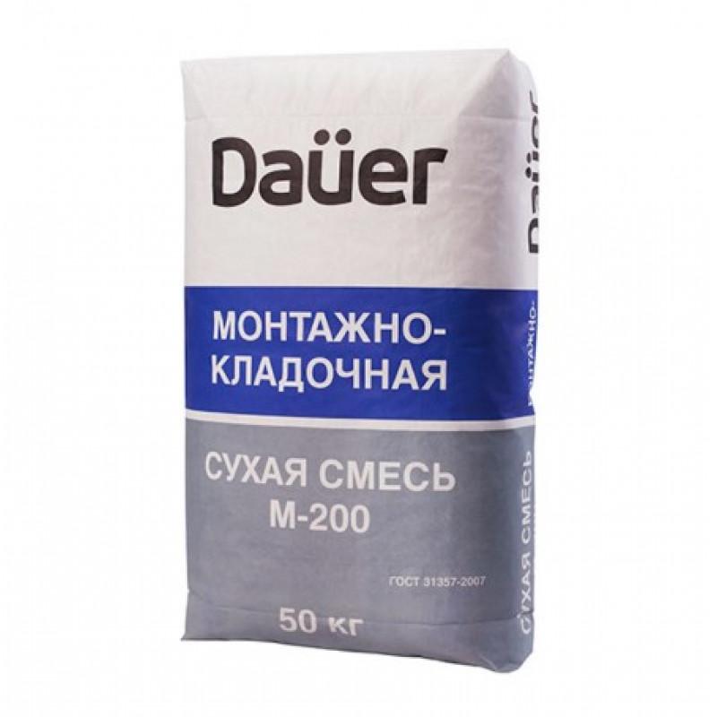 Смесь цементно-песчаная (ЦПС) М200 Dauer 50 кг