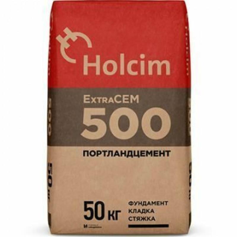 Портландцемент М-500 Holcim ExtraCem, 50 кг