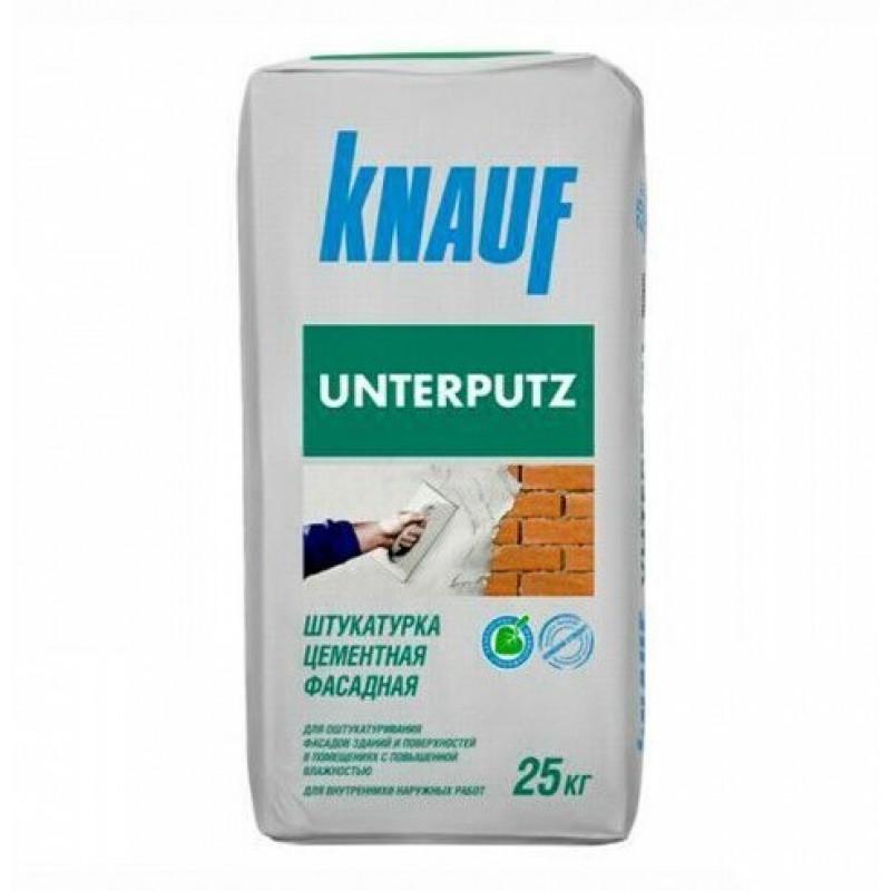 Штукатурка цементная KNAUF Унтерпутц, 25 кг