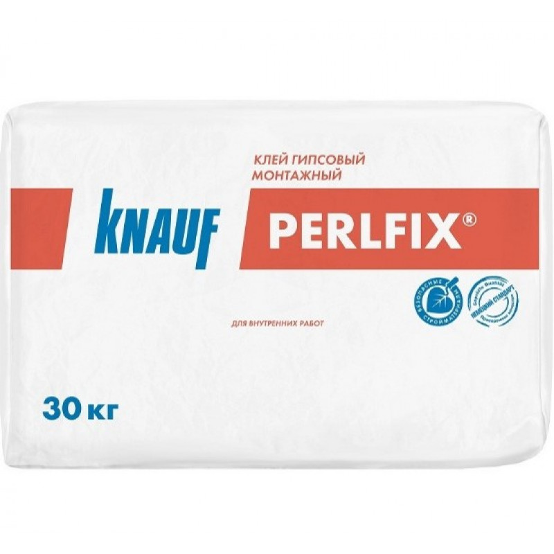 Клей монтажный гипсовый Knauf Перлфикс, 30 кг