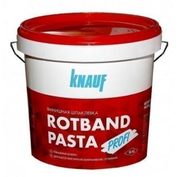 Шпаклевка полимерная Knauf Ротбанд-паста Профи, 5 кг