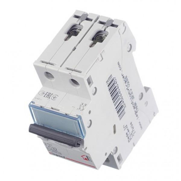Автоматический выключатель Legrand TX3 (404045) 2P 32А тип C 6 кА 230-400 В на DIN-рейку