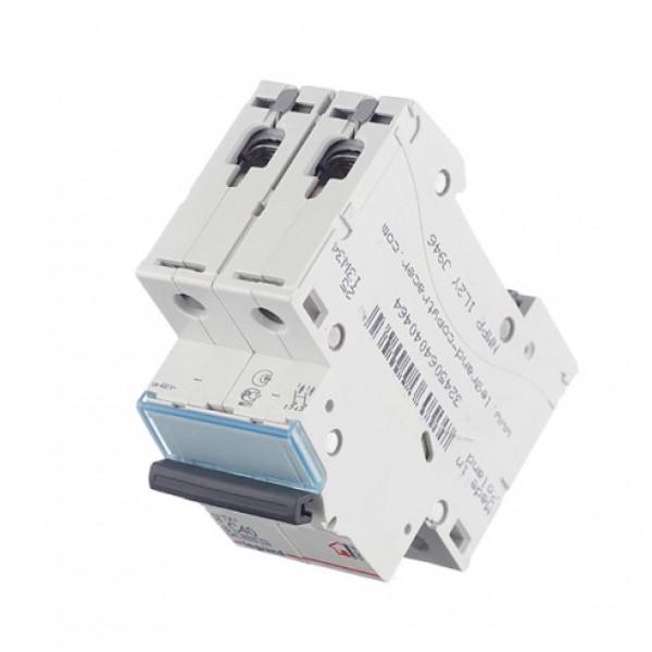 Автоматический выключатель Legrand TX3 (404046) 2P 40А тип C 6 кА 230-400 В на DIN-рейку