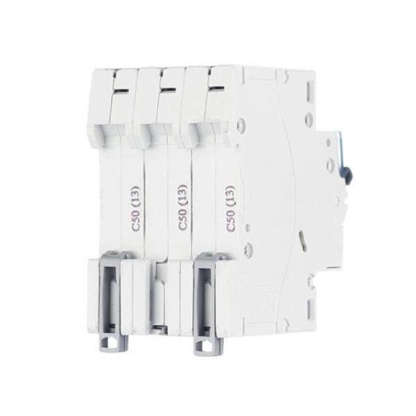 Автоматический выключатель Legrand TX3 (404061) 3P 50А тип C 6 кА 400 В на DIN-рейку