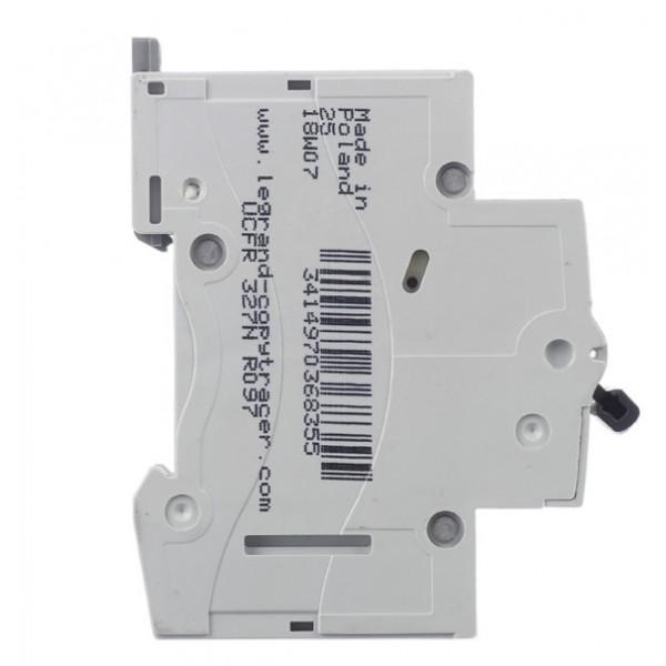 Автоматический выключатель Legrand RX3 (419666) 1P 25А тип C 4,5 кА 220 В на DIN-рейку