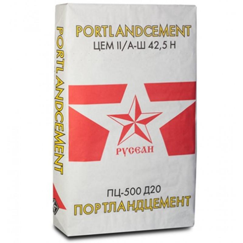 Цемент Русеан М-500 Д20, 40 кг
