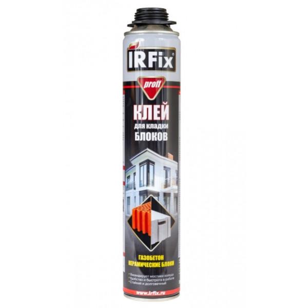 Пена клей IRFix для кладки блоков профессиональная, 750 мл