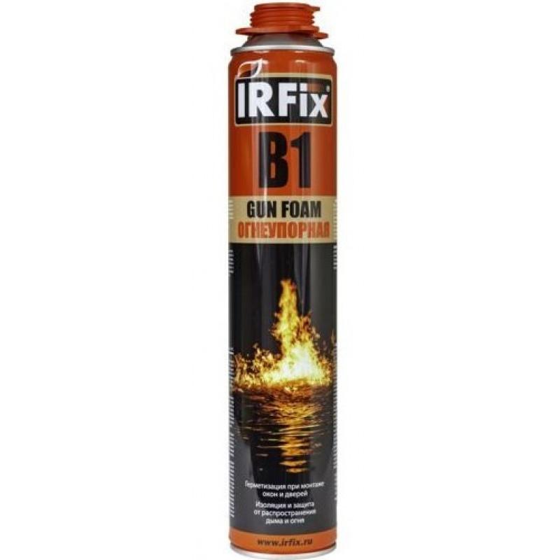 Пена монтажная IRFix B1 профессиональная 750 мл огнеупорная