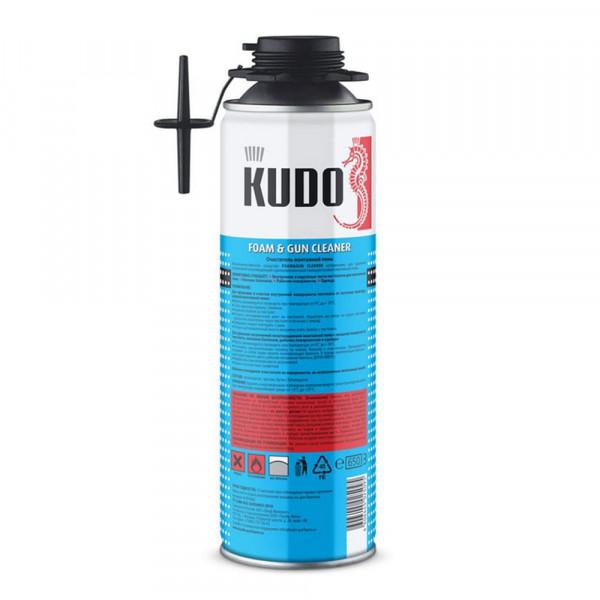 Очиститель монтажной пены Kudo Foam&Gun Cleaner