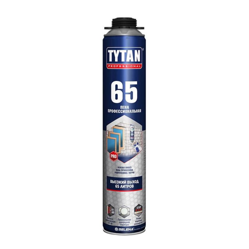 Пена монтажная Tytan Professional 65 O2 профессиональная