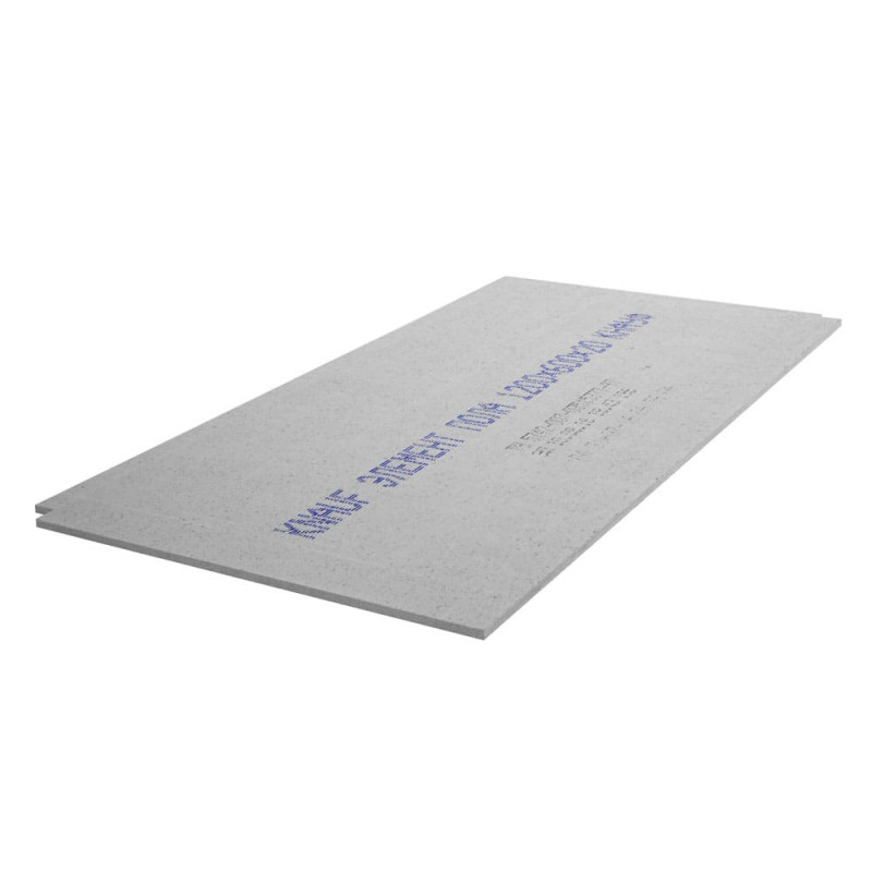 Гипсоволокнистый лист (ГВЛ) KNAUF суперпол - элемент пола (ЭП) влагостойкий 1200х600х20мм