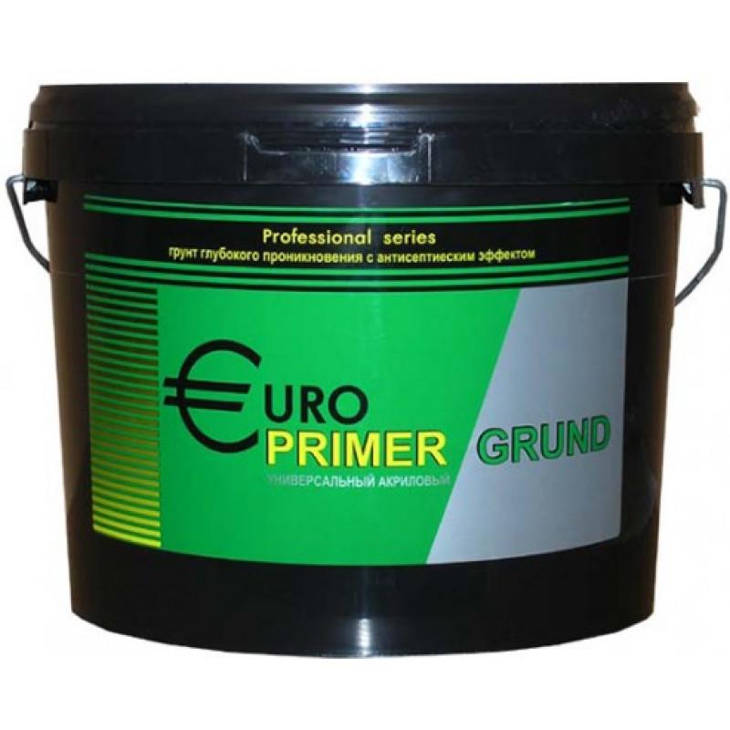 Грунтовка для наружных и внутренних работ Euro Primer 10л