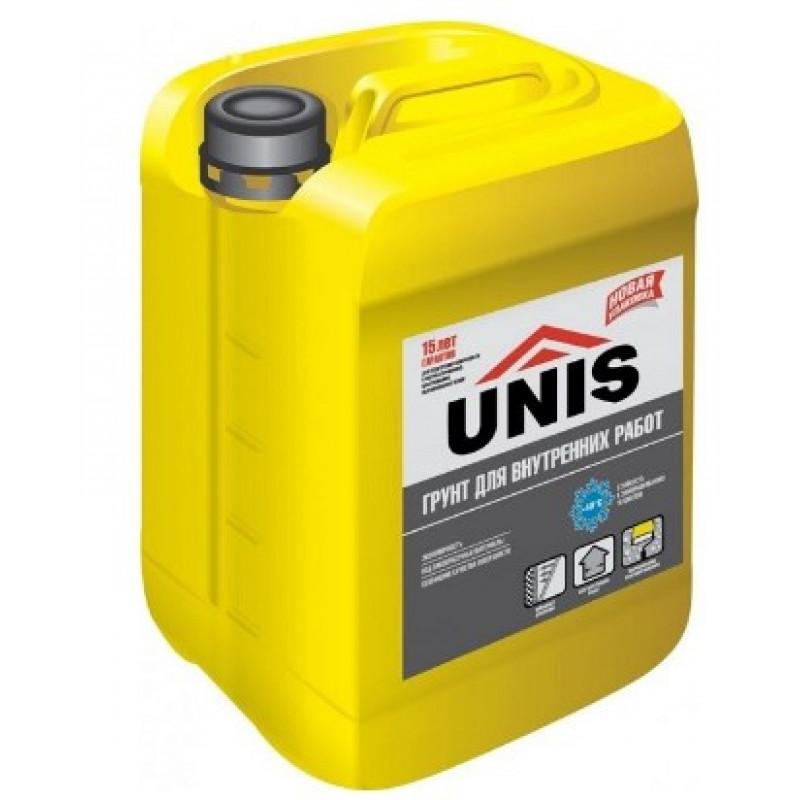 Грунт для внутренних работ UNIS (ЮНИС) 10 л
