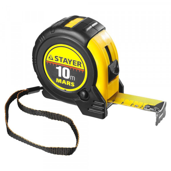Рулетка Stayer, 10м