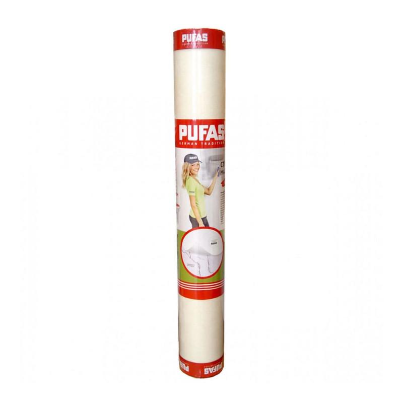 Стеклохолст малярный паутинка 25 г/м2 Pufas, рулон 50 м2