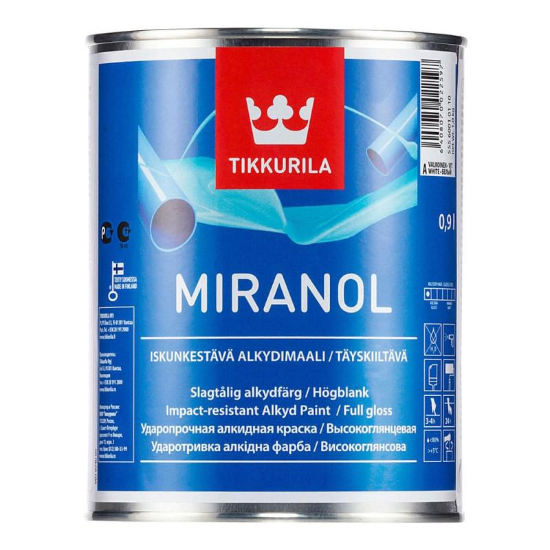 Эмаль алкидная универсальная Tikkurila Miranol