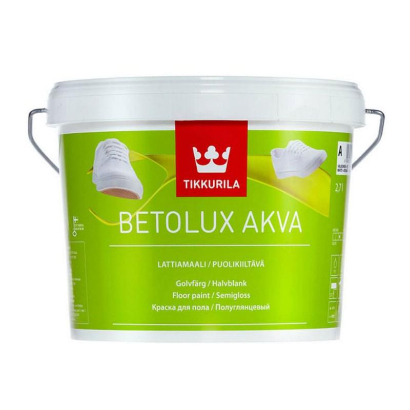 Краска для пола TIKKURILA BETOLUX AQUA, 9л