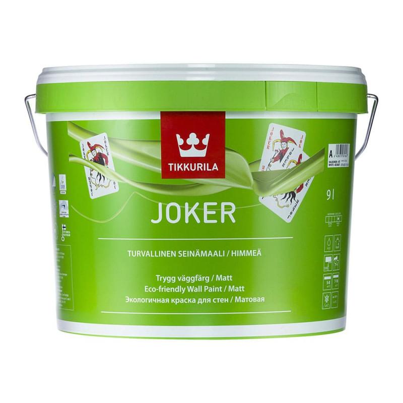 Краска акриловая Tikkurila Joker для детской матовая, 0.9л