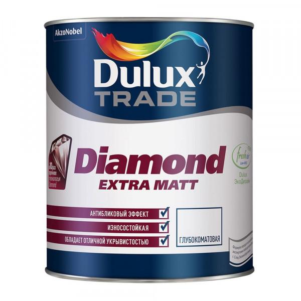 Краска Dulux Diamond Extra Matt моющаяся матовая, 2.5л