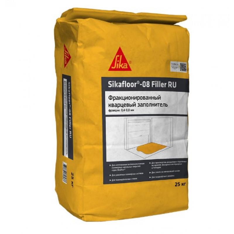 Наполнитель кварцевый фракционный (песок) Sikafloor-08 Filler RU 04-08 мм 25 кг