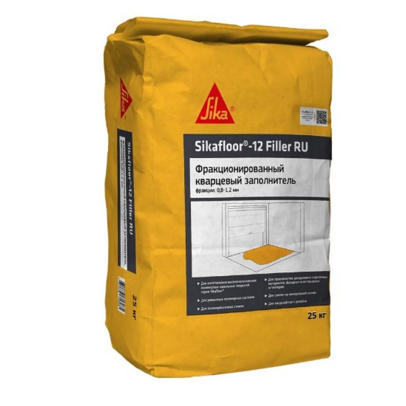 Наполнитель кварцевый фракционный (песок) Sikafloor-12 Filler RU 08-12 мм 25 кг