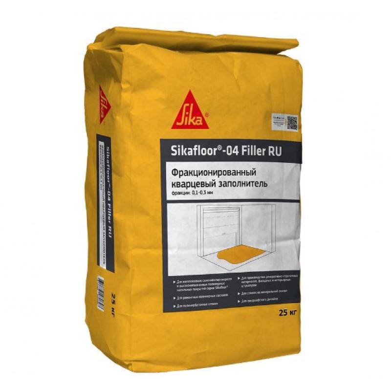 Наполнитель кварцевый фракционный (песок) Sikafloor-04 Filler RU 01-03 мм 25 кг