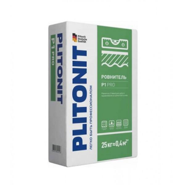 Ровнитель (стяжка пола) первичный Plitonit P1 PRO 25 кг