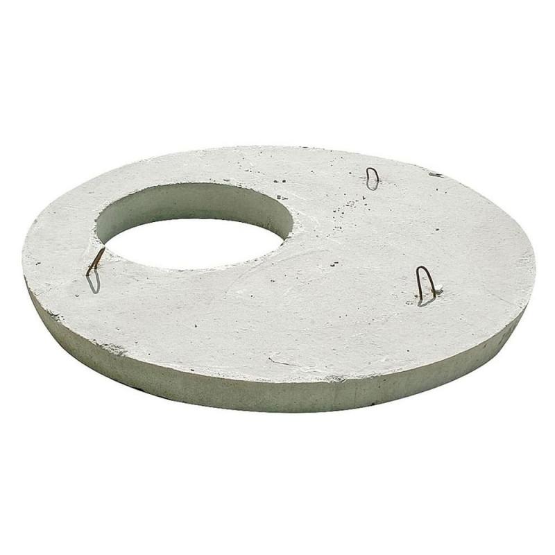 Плиты перекрытия колодцев 1ПП-20-1 D=2200 H=160