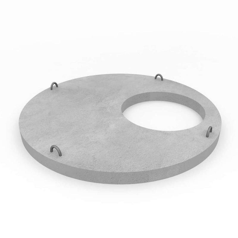 Плита перекрытия колодца 1ПП15-2 D=1680 H=150мм