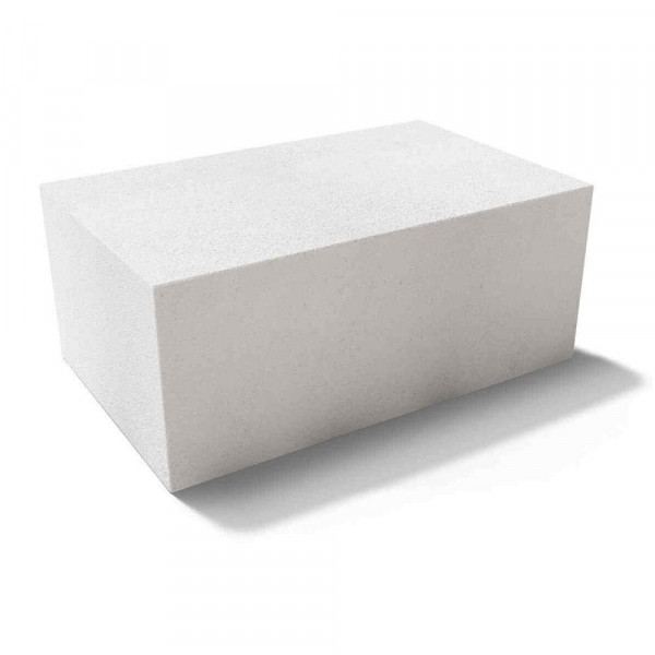 Газобетонный перегородочный блок 600x100x250 D500