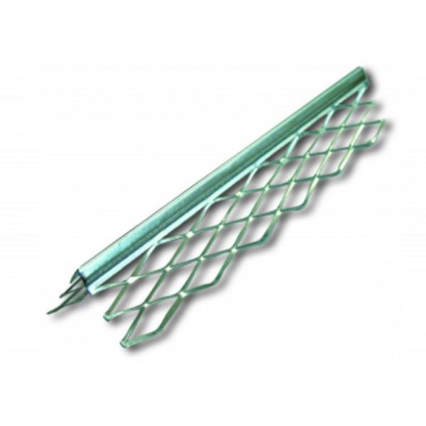 Профиль угловой оцинкованный с металлической сеткой, 3 м