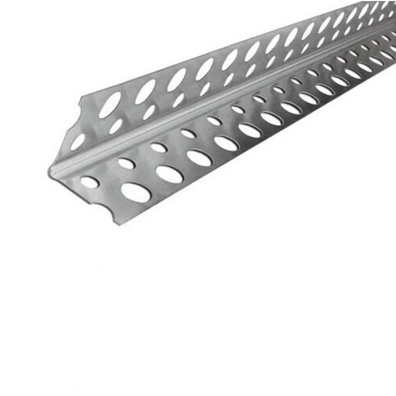 Профиль угловой перфорированный оцинкованный 25х25, 3 м