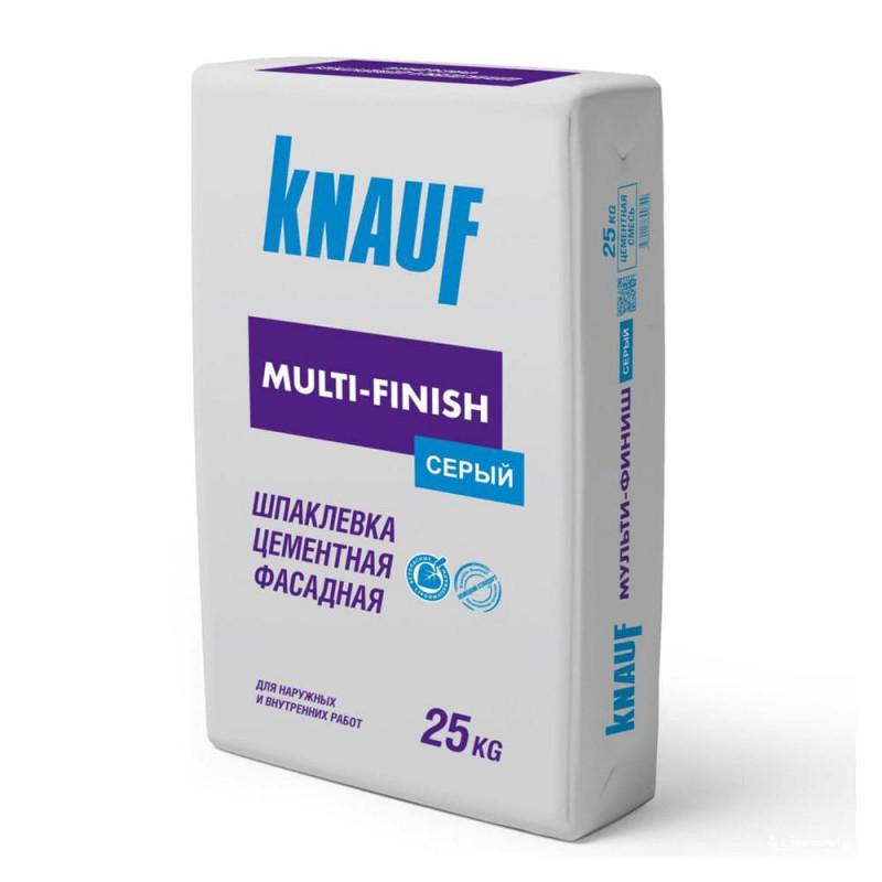 Шпатлевка KNAUF Мульти-Финиш цементная фасадная (25 кг)