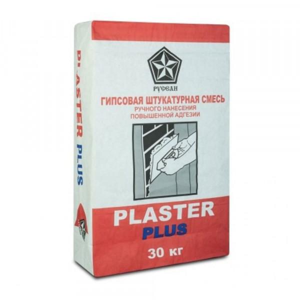 Штукатурка гипсовая Русеан Plaster (Пластер), 30 кг