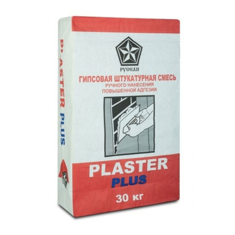 Штукатурка Русеан Plaster, 30 кг