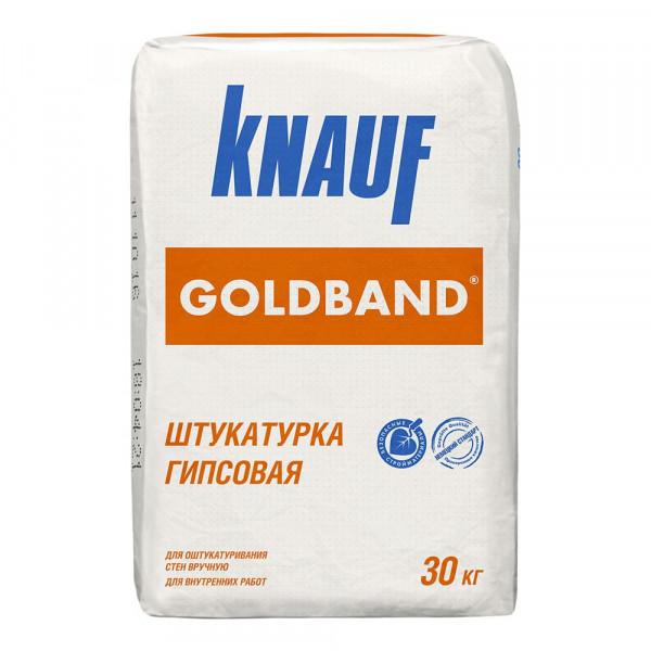 Штукатурка KNAUF Гольдбанд, 30 кг