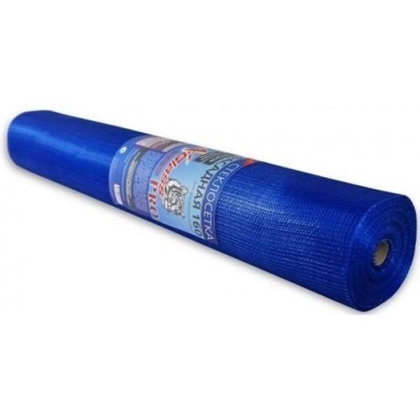 Сетка фасадная 5х5мм 160г/м2 синий