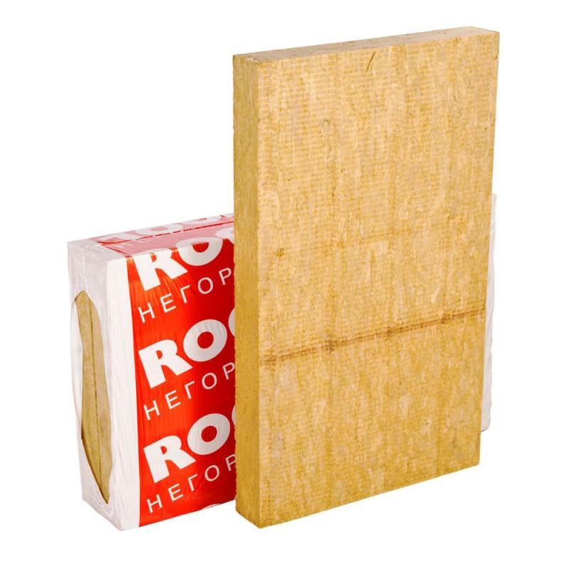 Каменная вата Rockwool Фасад Баттс 1000х600х50мм, 4 шт